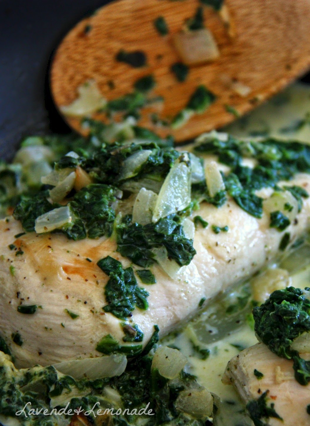 Weeknight Chicken with Spinach