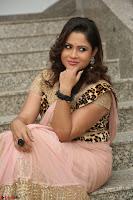 Shilpa Chakravarthy in Lovely Designer Pink Saree with Cat Print Pallu 051.JPG