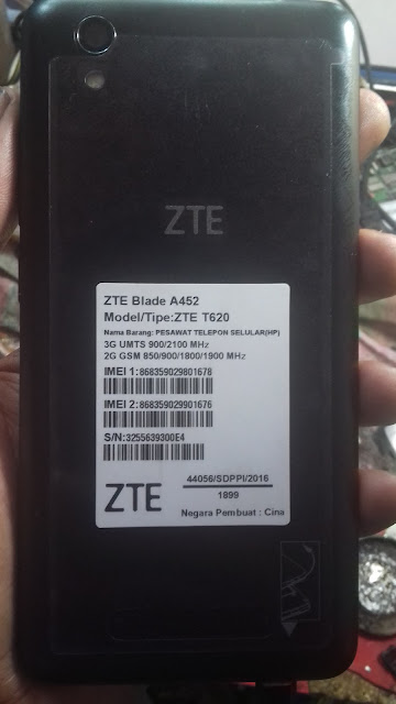 ZTE BLADE A452 T620 MT6735 5 1 LOLLIPOP UPDATE FIRMWARE DEAD