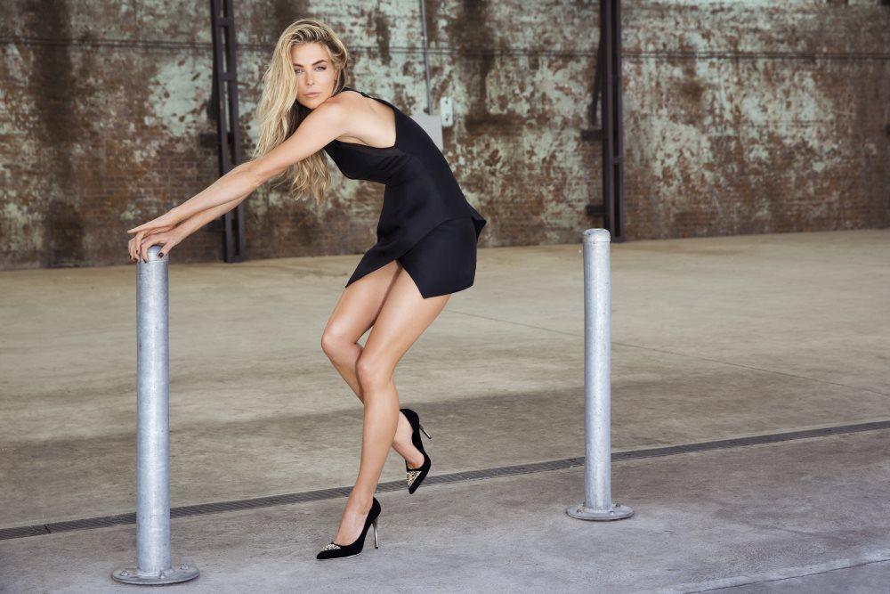 JLH Shoe Campaign Fall/Winter 2013 Featuring Jennifer Hawkins