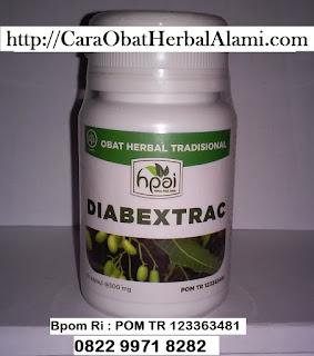 Obat Diabetes MELLITUS Herbal Tradisional Alami Khasiat DIABETRAC HPAI