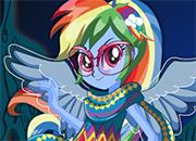 Equestria Girls 4 Rainbow Dash Legend Of Everfree juego