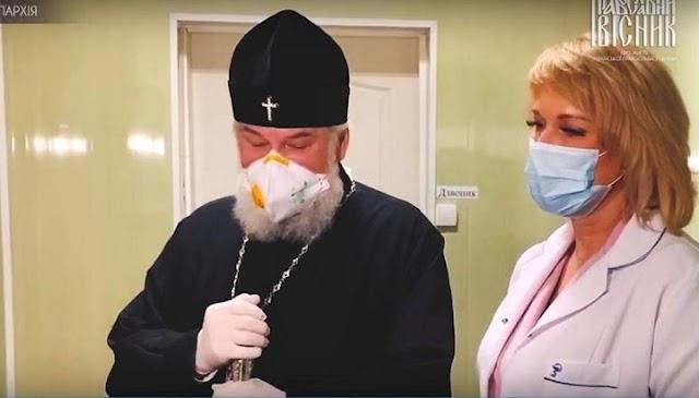 УПЦ передала 2688 тест-систем для виявлення COVID-19 медикам Кіровограда