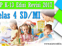 Download RPP K13 Edisi Revisi 2017 Kelas 4 SD/MI