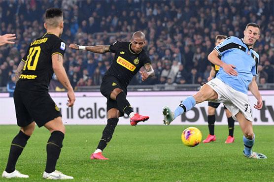 Video Cuplikan Gol: Lazio 2-1 Inter Milan (Serie A)