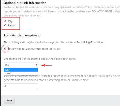 Menampilkan Data Statistik Download di OJS 3 |