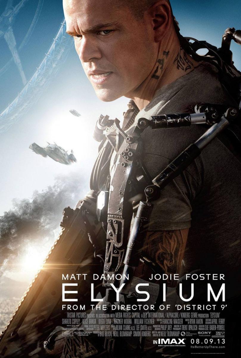 Download Elysium (2013) Full Movie in Hindi Dual Audio BluRay 1080p [4GB]