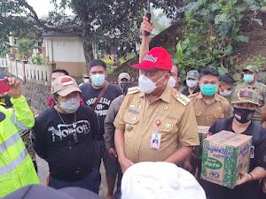 Sumendap Larang Masyarakat Minta-minta Bantuan di Jalan Pasca Banjir Bandang