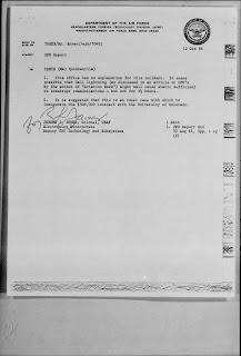 Carpio Grano Sighting 8-24-1966 (Ltr To Maj Quintanilla From Col Jerome J Jones -FTD- 10-12-1966)