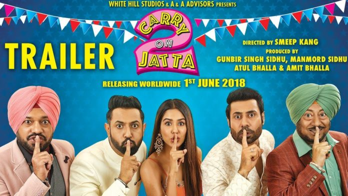 Punjabi movie Carry on Jatta 2 Box Office Collection wiki, Koimoi, Carry on Jatta 2 cost, profits & Box office verdict Hit or Flop, latest update Carry on Jatta 2 tollywood film Budget, income, Profit, loss on MT WIKI, Bollywood Hungama, box office india