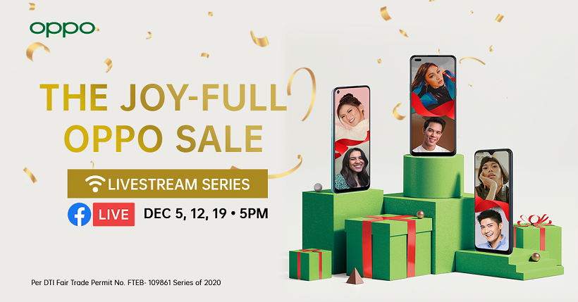 OPPO announces #OPPOJoyFullSale Weekly Livestream