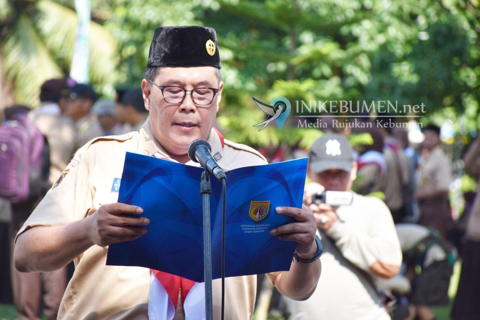 Buka Pesta Siaga, Zuhroh Yazid Mahfudz Kenalkan Kantor Pemkab Kebumen