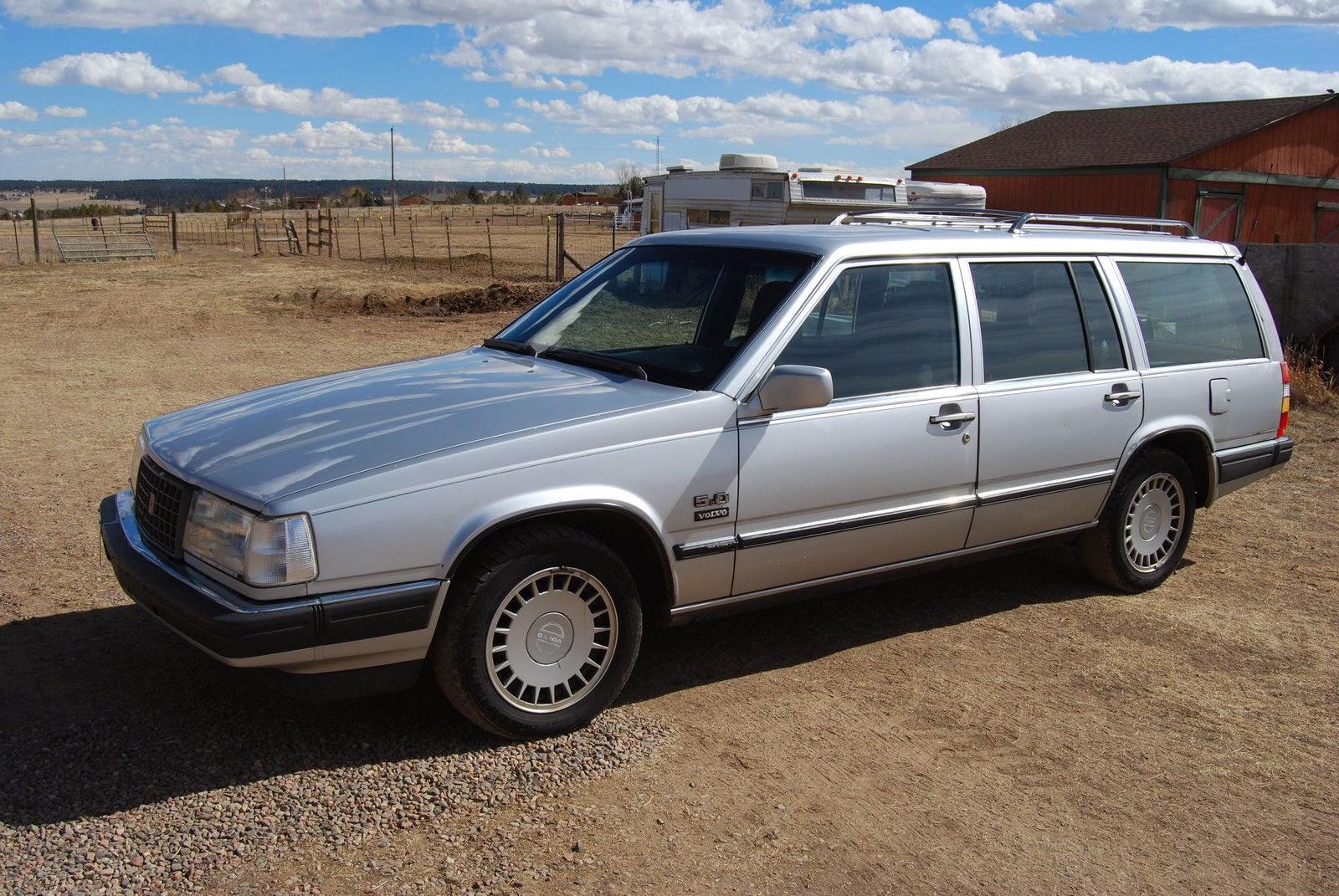 Daily Turismo: 5k: 5 0h My: 1988 Volvo 760 GLE Wagon V8 Swap