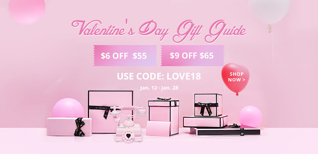Zaful Valentines Day 2018 Special Promotion
