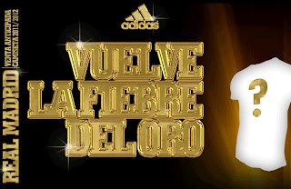 Gold rush in the new Real Madrid home jersey