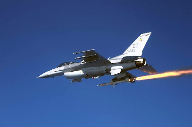USAF F-16 shoots down drone