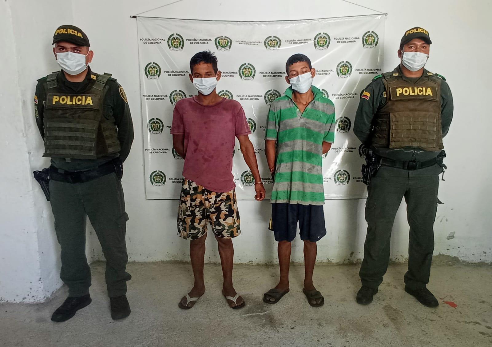 https://www.notasrosas.com/Por Homicidio Agravado fueron apresados dos hombres en Gamarra -  Cesar