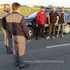 Cetățeni turci depistați în proximitatea P.T.F. Calafat, încercând să intre ilegal în România