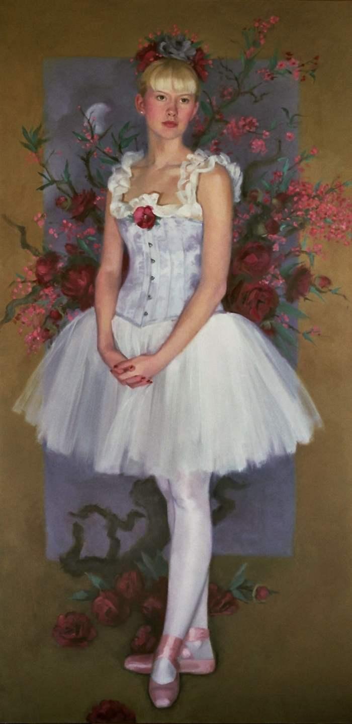 Американский художник. Sharon Knettell