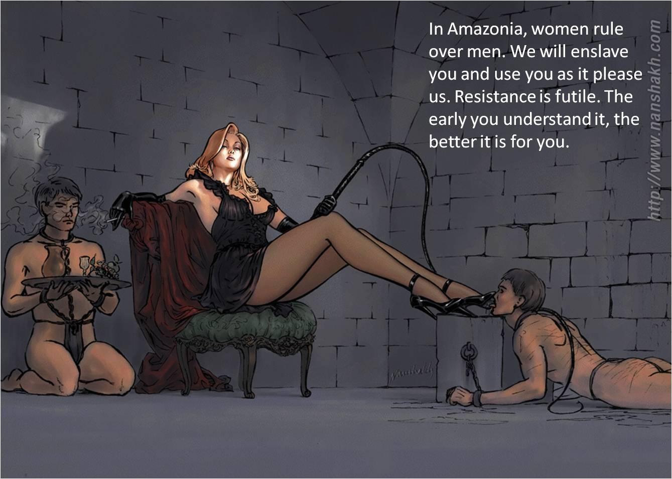 World female domination 'No Men