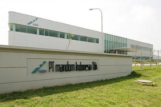 Lowongan Kerja Cikarang : PT Mandom Indonesia Tbk - Operator Produksi