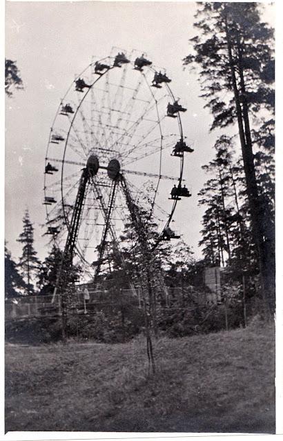 Сентябрь 1964 года. Рига. Колесо обозрения в Межапарке