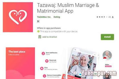 tazawaj aplikasi jodoh muslim