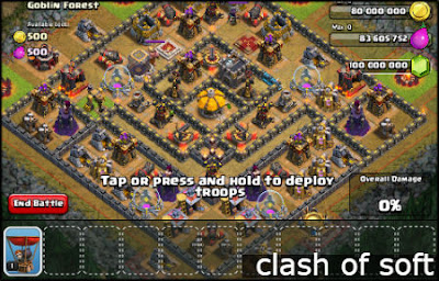 كلاش اوف سوفت clash of soft