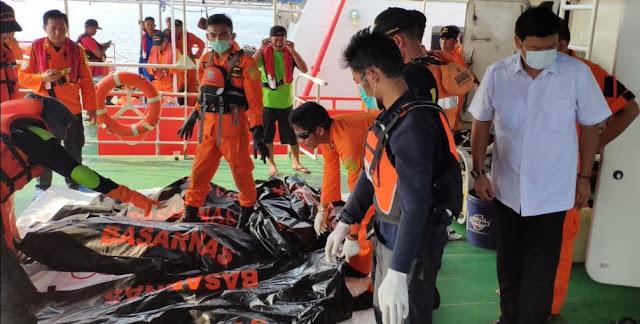 Update Jenazah Korban Lion Air JT-610 Rabu Malam, Sudah 53 Kantong Jenazah