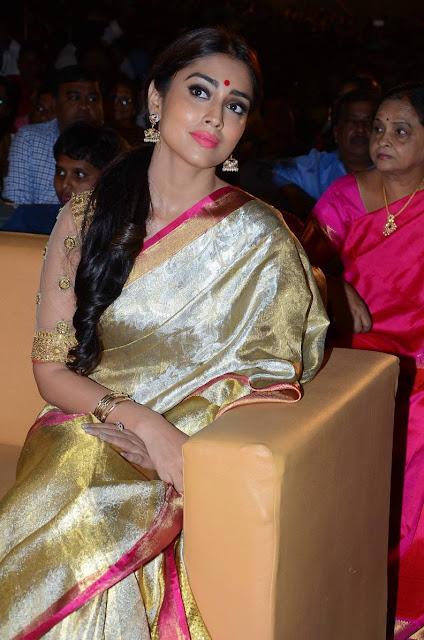 Shriya Saran Stills At Gautamiputra Satakarni Audio Launch
