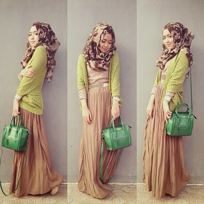 Fashion Terbaru Muslimah di Indonesia 3