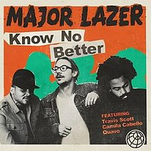 lirik Major Lazer - Know No Better