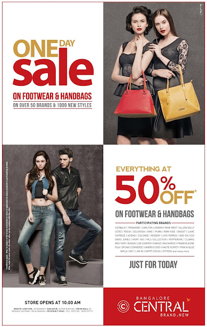 Flat 50% off in Central | November 2016 discount offers