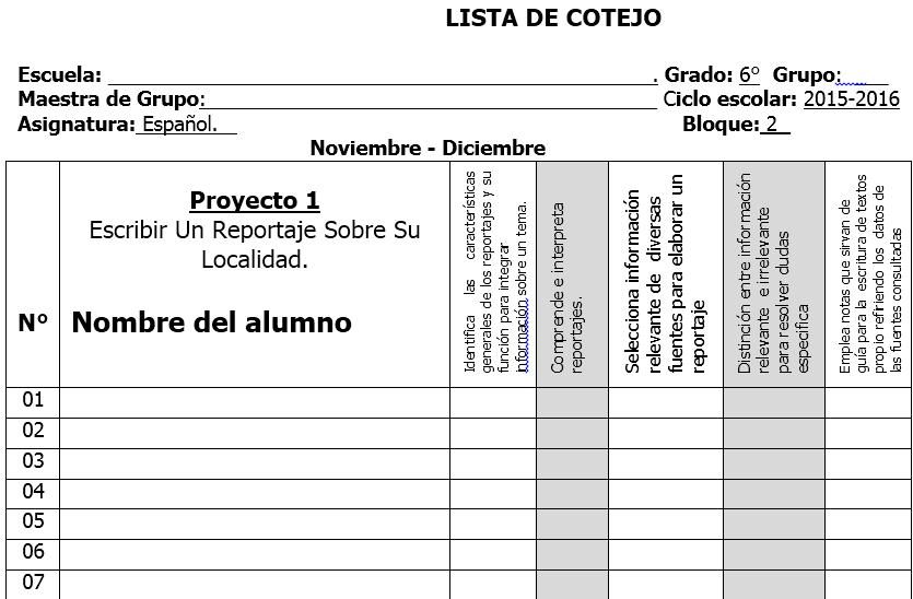 Listas Decotejo Para Evaluar En Primaria Educacion Fisica  cuestionario r 250 brica o lista de