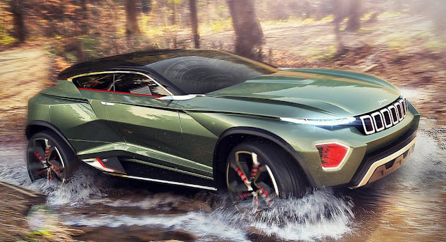 Concepts, Electric Vehicles, Galleries, Jeep, Jeep Concepts, Renderings