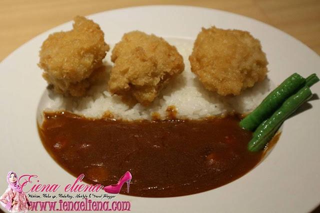 Chicken Katsu sushi king