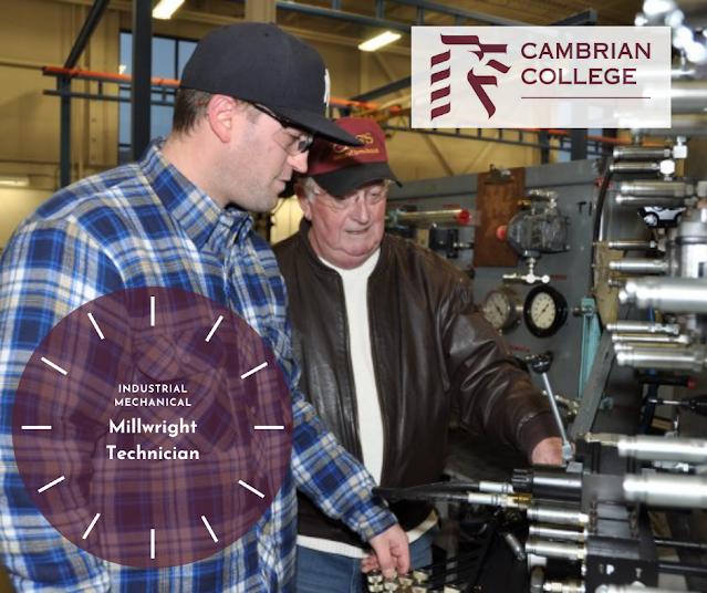 Millwright Technician - Cambrian College
