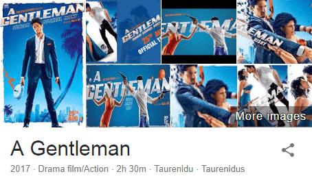 Download A Gentleman(2017) Sidharth Malhotra Full Movie in HD Blu-Ray