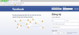 Cốc Cốc không vào được Facebook - Cách khắc phục 8