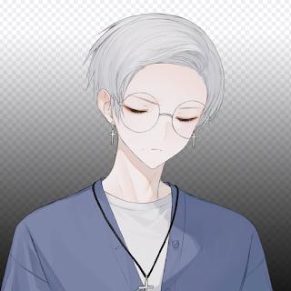 Anime boy glass keren pakai kacamata