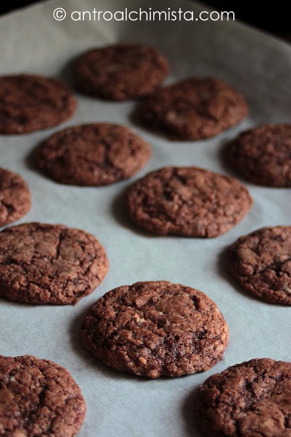 Cookies al Doppio Cioccolato e Fior di Sale