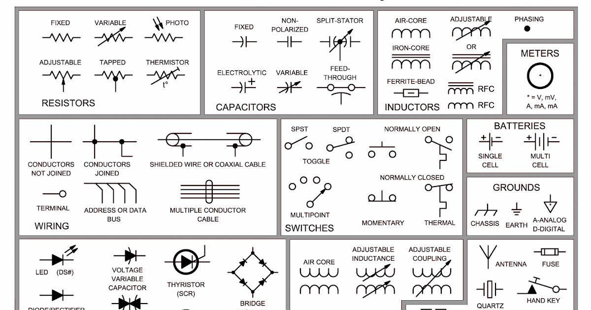 Car Electrical Component Symbols - Somurich.com