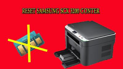 Reset counter Samsung scx-3200 Printer