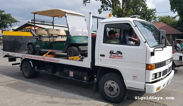 Javin's Towing Service Bacolod - Bacolod towing service - Bacolod City - Bacolod blogger - super cars - miata- towing super cars - car break down - emergency towing service - golf cart - Towing Service Bacolod