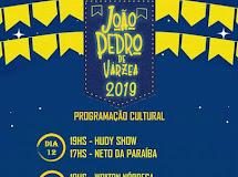 Prefeitura de Várzea divulga programação cultural da praça Joaquim Marinho