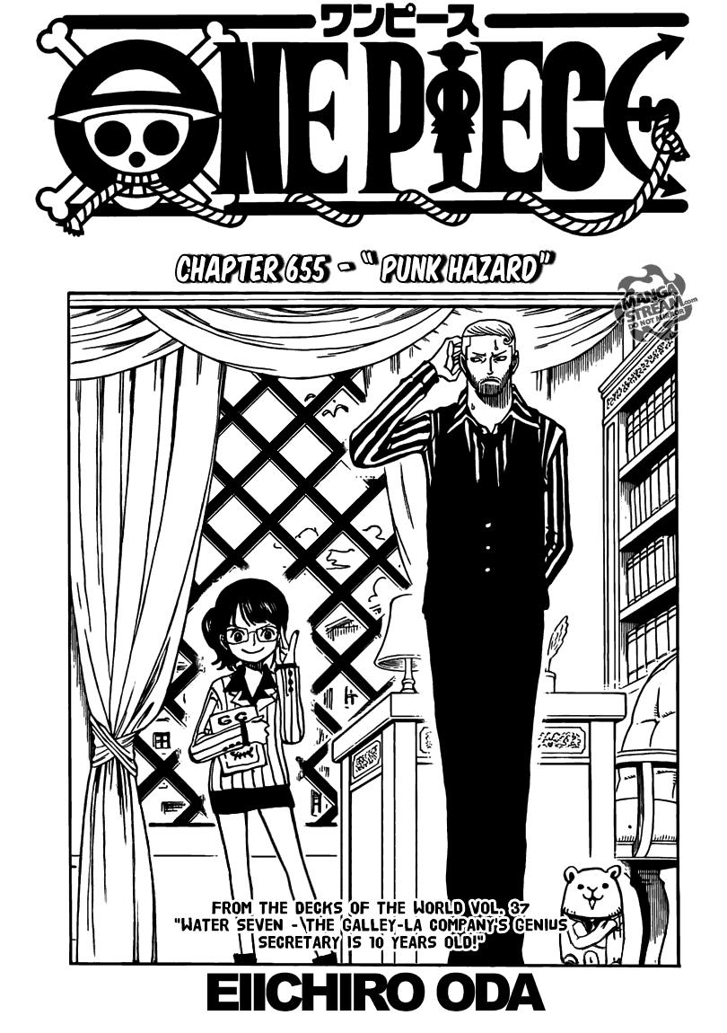Page01 One Piece 655   Punk Hazard