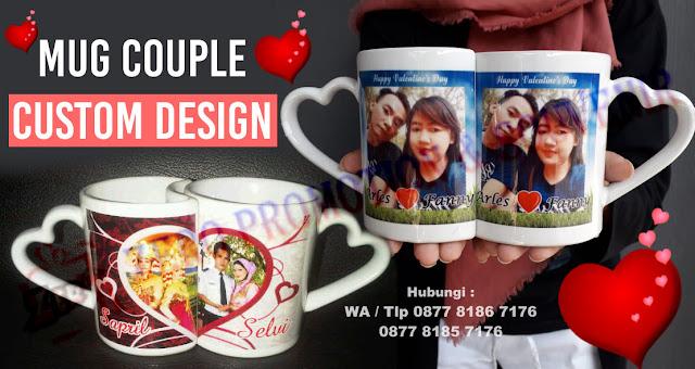 Jual Mug Couple, Mug Pasangan Murah, Mug cinta, Souvenir Mug Couple Love