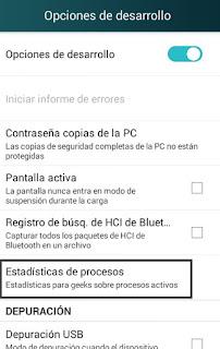 acelerar android al maximo sin root, cerrar procesos en segundo plano