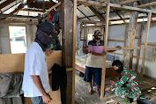 Samsudin Ucapkan Syukur Dan Terimakasih Rumahnya Menjadi Salah Satu Sasaran  Rehab RTLH TMMD ke 109 Kodim 1607/Sumbawa
