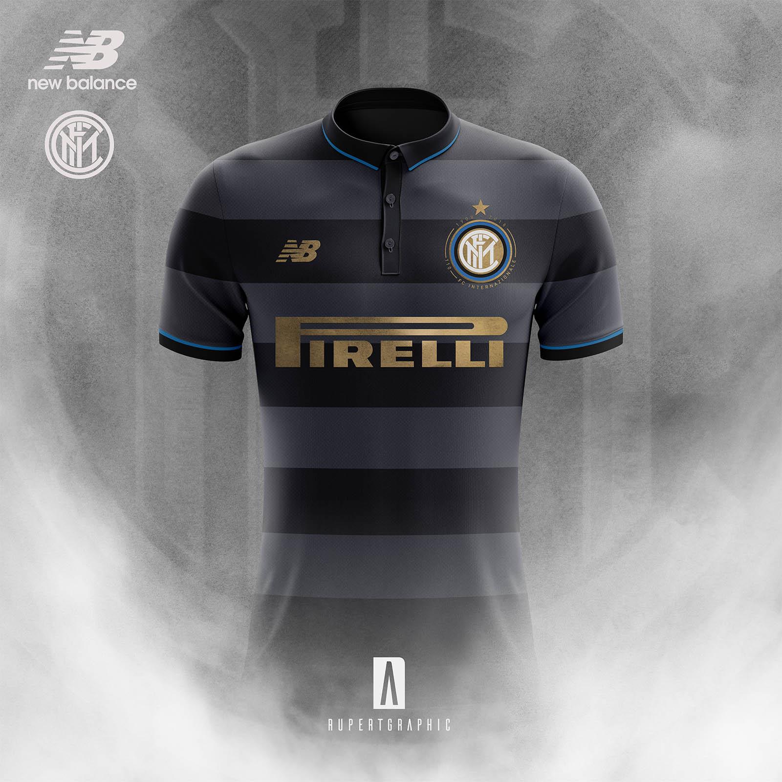 42b827b9a Discount New Balance Inter Milan 17-18 Home